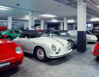 Porsche Klassiker in Garage
