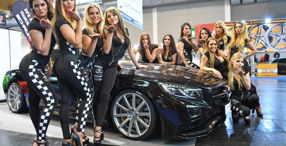 Miss Tuning Kandidatinnen auf der Tuning World 2017