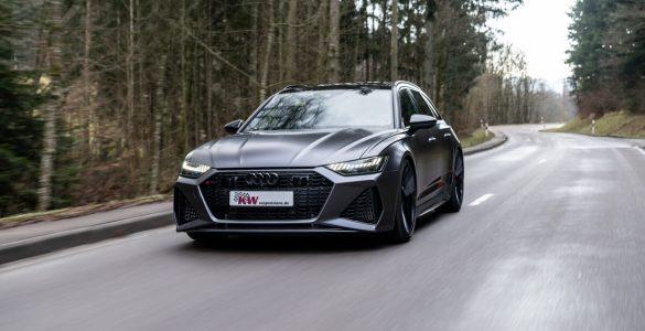 KW Gewindefedern: Upgrade für Audi RS6 mit RS-Sportfahrwerk plus
